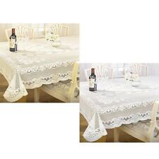 100% Polyester Floral & Nature Tablecloths