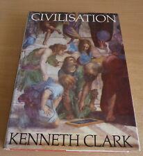 Civilisation by Kenneth Clark (Hardback) book 1970 - John Murray BBC published