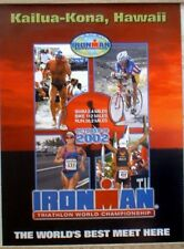 Ironman Triathlon Official Poster 2002 Kailua Kona, Hawaii (original poster)