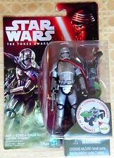 "Star Wars The Force Awakens Captain Phasma 3 3/4"" Figure 2015 moc 3.75"" In Hand"