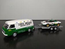 1/43 IXO Set Fiat 238 Alitalia Lancia Stratos trailer Rally Monte-Carlo 1975 WRC