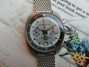 Poljot Sturmanskie 3133 Soviet Aviator Chronograph Men's Watch