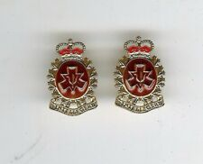 Pair Modern Canadian Forces Personnel Selection Branch Collar Badges