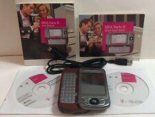 T-Mobile MDA Vario-Borgoña y Plateado (II T-Mobile) Pocket PC Smartphone