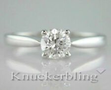 Engagement Very Good Cut Natural SI3 Fine Diamond Rings