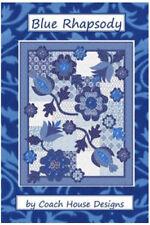Quilt Pattern BLUE RHAPSODY Moda COACH HOUSE SPA Deb Strain