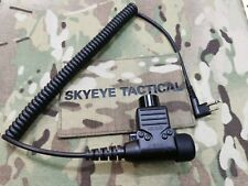 Ampified Secure Tacitc 94 (ST94-V2) PTT for Motorola 2 Pin Type Radio.