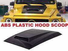Mercedes Benz G class Hood scoop G63 G550 W463 ABS PLASTIC MATERIAL (B-style)