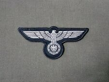 German Army Eagle Woven Patch Sew On