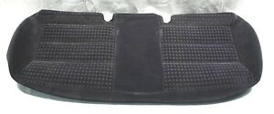 Rear Back Seat Cushion Cover 01-05 VW Passat B5.5 Sedan Black Cloth - Genuine