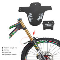 MTB Front Mudguard Fenders Rear Bike Mudguard Mountain Bicycle Cycling Fenders