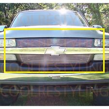 For Chevy Silverado 2500/3500 2001-2002 Upper Billet Grille Insert Bolt on
