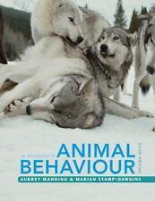 An Introduction To Animal Behaviour: By Aubrey Manning, Marian Stamp Dawkins