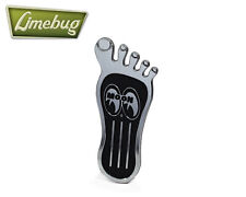 "Mooneyes Small 7"" Barefoot Pedal Beetle Camper Foot Pad Buggy T1 T2 VW Bus Van"