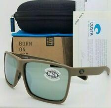 NEW Costa Rincon Sunglasses Matte Moss Grey Silver Mirror 580G AUTHENTIC RIN 198