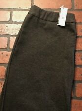 New York & Co. Central Park Pants Pull On Wide Leg Women's Size Average Large