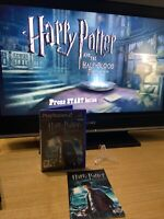 Harry Potter and the Half Blood Prince Sony Playstation 2 PS2 Complete Tested