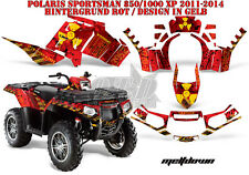 AMR Racing DECORO GRAPHIC KIT ATV POLARIS SPORTSMAN modelli scaricarle B