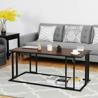 Coffee Cocktail Accent End Table Side Sofa  Living Room Essentials Furniture NEW