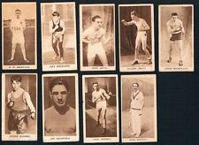1928 G. Phillips Sporting Champions Lot of 9 Tobacco Cards