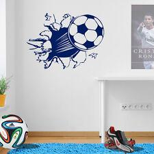 Fußball Tor Kick Jungen Kinder Schlafzimmer Wandkunst Aufkleber Kinder Neu A44