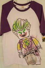 Batman Movie Joker Lego DC Comics Graphic T-Shirt Men's Size Medium NWT