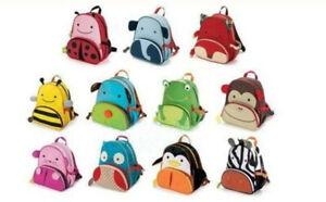 New Toddler Children Animal Backpack Preschool Lunch Bag Home Outdoor UK Stock
