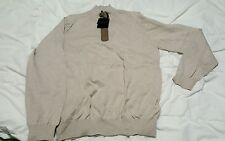 MASSIMO DUTTI MEN'S sweater with zipper Pullover  Size: L