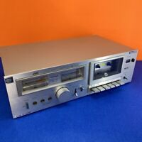 1980 Vintage JVC KD-A22 Stereo Cassette Deck WORKING BUT PARTS ONLY