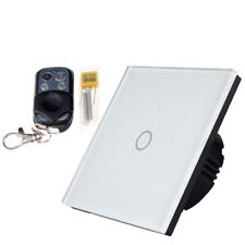 Luxury Smart Glass Panel Touch, Remote & WIFI LED Light Switches