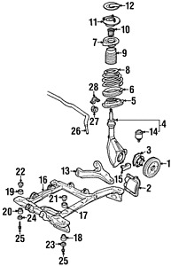Genuine GM Ball Joint 17989117