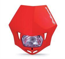 POLISPORT MMX Headlight Enduro Road Legal RED CRF CR EC