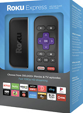 New Roku Express 3700r Remote Streaming Stick Media Player Smart TV