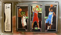 Hot 2003 TOPPS MATRIX LEBRON JAMES Rookie CARMELO Anthony Mint 9 Lakers RC HOFx2