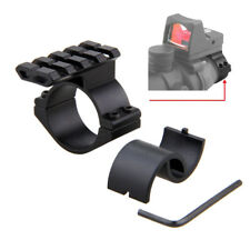 "1"" - 25mm & 30mm Ring Adapter Scope Barrel Mount with 20mm Weaver Picatinny Rail"