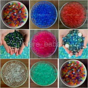 5000 Orbeez Water Aqua Soil Crystal Bio Gel Balls Beads Decoration Vase Filler