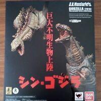 Bandai S.H.Monster Arts Godzilla Second & Third Form Set Shin Godzilla 2nd 3rd