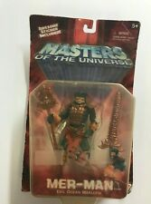 Mer-Man Masters Of The Universe sealed 2001 Toy Action