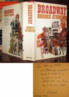 Atkinson, Brooks BROADWAY Signed 1st 1st Edition 1st Printing