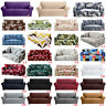1-4 Seater Elastic Slipcover Sofa Covers Stretch Couch Cover Furniture Protector