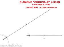 Diamond X-300N Antenna bibanda 144/430 MHz da base