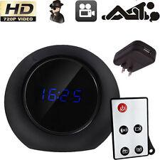 720P Motion Detect HD Camcorder Alarm Clock Spy Camera Remote DVR Video Record
