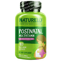 NATURELO Postnatal Multivitamin for Breastfeeding Women - 180 Caps - Exp 05/22