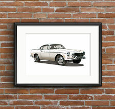 Volvo P1800 Coupe POSTER PRINT A1 size