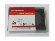 Fibre Cut Disc Aluminum Oxide 32mm x 0.5mm for all Dental Alloys Metals 20/Box