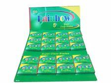 100 Rainbow Super Stainless double edge razor blades