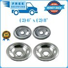 Stove Drip Pan Covers Set For Frigidaire Kenmore Electric Burner Cook Top Bowl photo