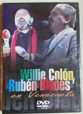 Willie Colon y Ruben Blades en Venezuela. DVD video. New. *Sealed.* Rare