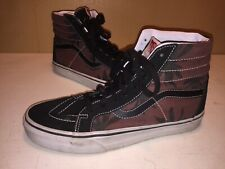 Vans Skateboard Hightop shoes Men Size 7 Palm Leaf Marijuana? Women 8.5