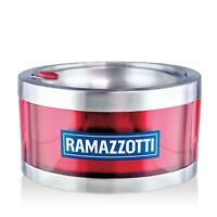 Ramazzotti Aschenbecher Ashtray Glas Gläser Windaschenbecher Gastro NEU